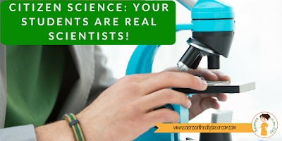A description of Citizen Science and resources to get started in your classroom