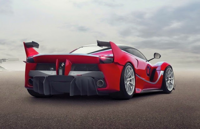 Short Review About Ferrari FXX K : Evolution of Maranello's First Hybrid