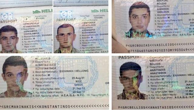 Ονδούρα: Συνελήφθησαν πέντε Σύροι με κλεμμένα ελληνικά διαβατήρια (φωτο)
