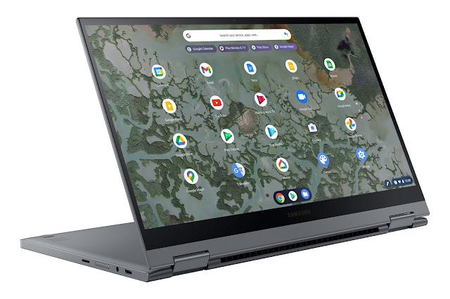 Samsung presenta sus nuevas Chromebook 2 en 1 con pantalla QLED