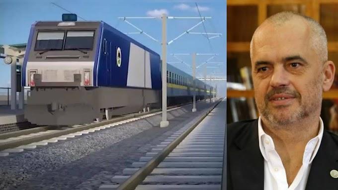 A ju pëlqen? Rama nis punën për të ndërtuar trenin modern, shpejtësia kap...