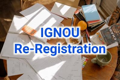 ignou re registration january 2021