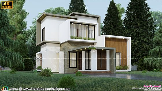 4 bedroom box model contemporary house