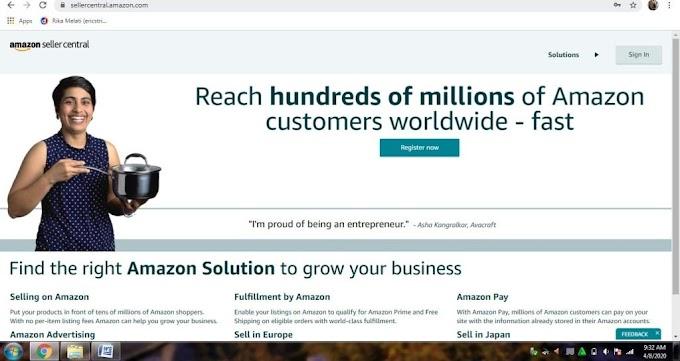 Cara Berjualan Di Amazon Untuk Pemula