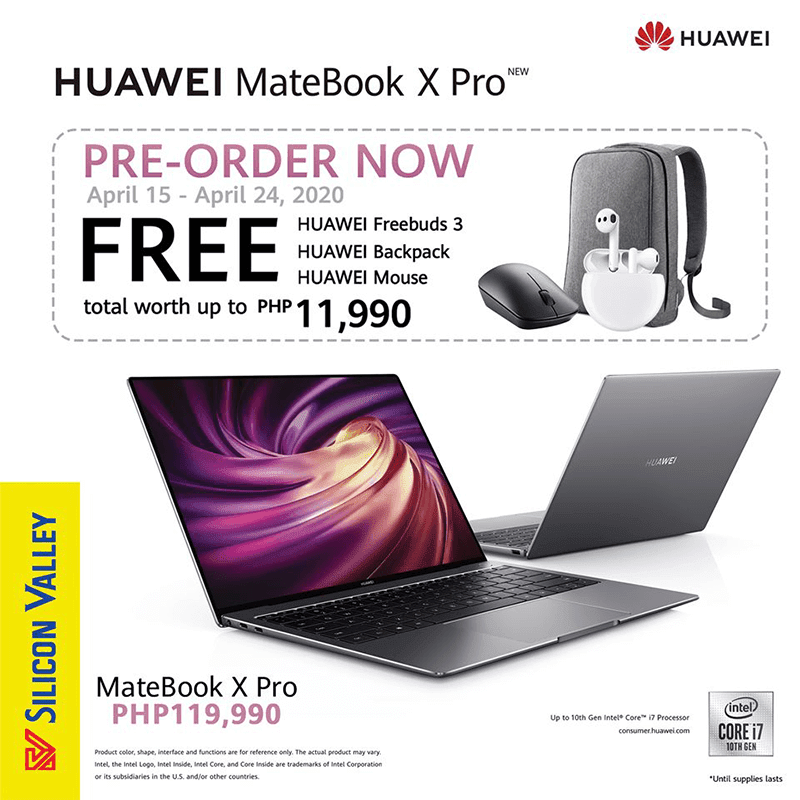 MateBook X Pro price and pre-order details in PH