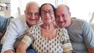 anupam kher's mother dulari devi, brother raju kher tests corona virus positive