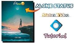 Avee player new template link 👇   avee player tutorials   avee player template   status alone