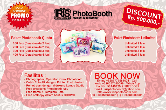 Paket PhotoBooth Promo 2016