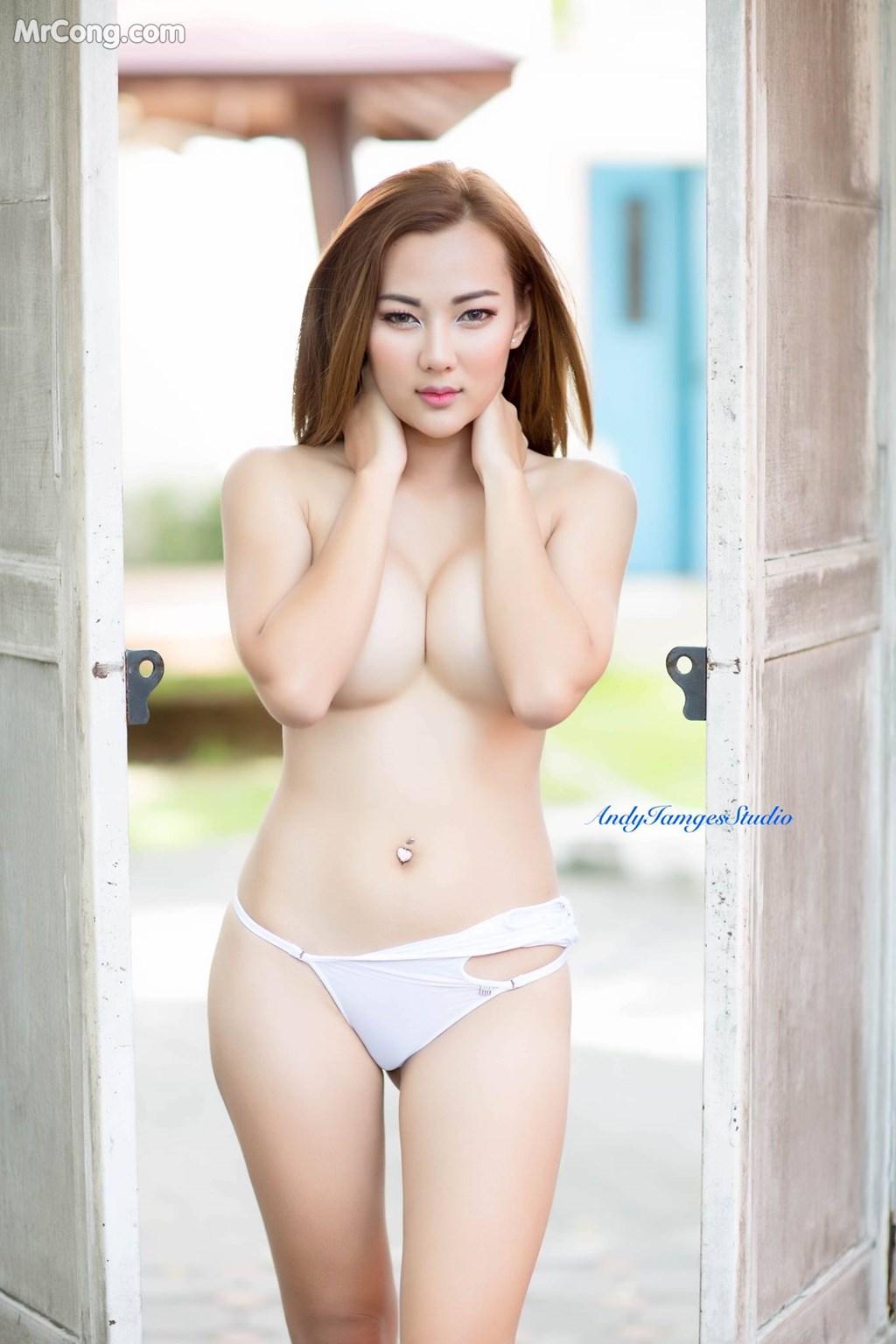 Image Thai-Model-No.225-MrCong.com-002 in post Thai Model No.225: Người mẫu หมวยเล็ก โดนัท (23 ảnh)