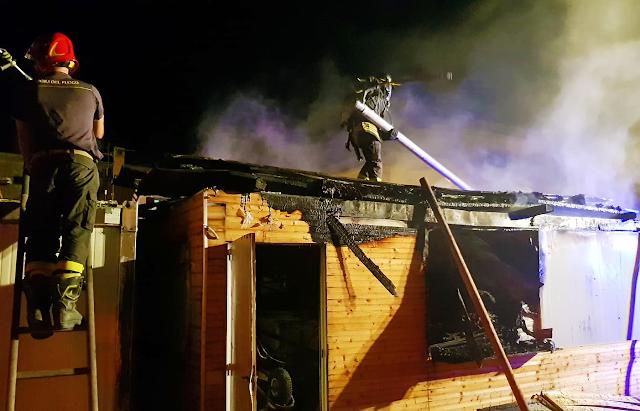 LOCRIDE. Incendi notturni a Siderno e Locri