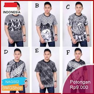 NAG002 Kaos Batik Hrb026 Kenongo Pendek Barong Murah Bmgshop