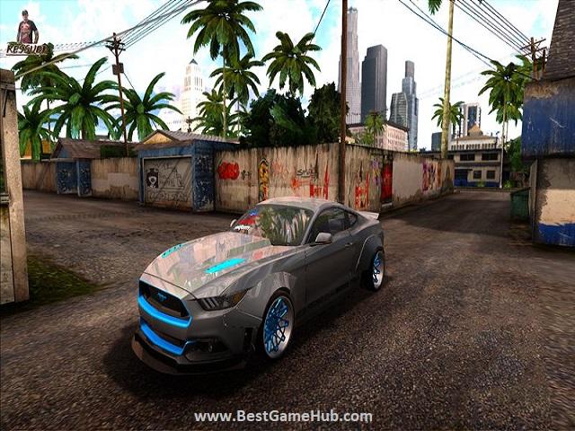 GTA SanAndreas Ultra Graphics free download - bestgamehub.com