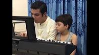 Iqrar Ul Hassan Teaching Piano to his Son Pehlaj