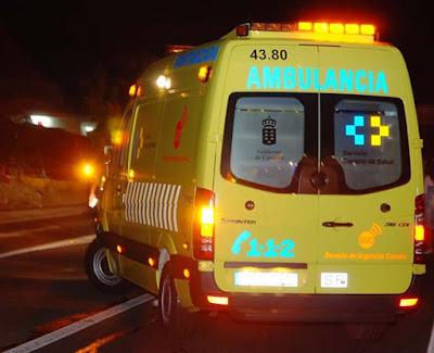 Hombre de 99 años grave al ser atropellado en La Oliva, Fuerteventura