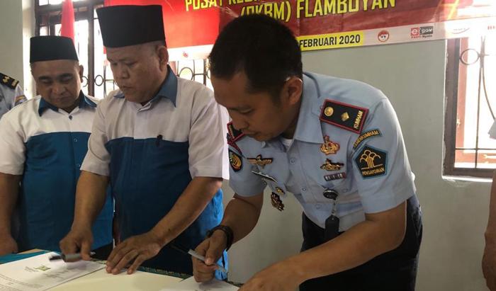 Berantas Buta Aksara Napi, Lapas Kelas II B Waykanan Gandeng PKBM Flamboyan
