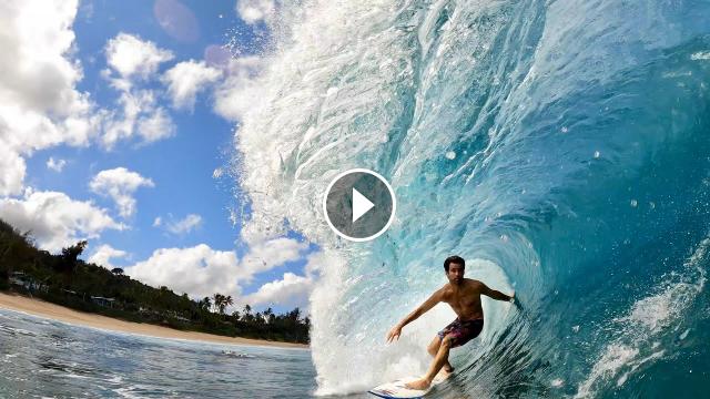 Mini Surf Session GoPro
