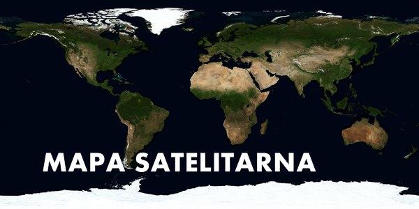 Mapa satelitarna