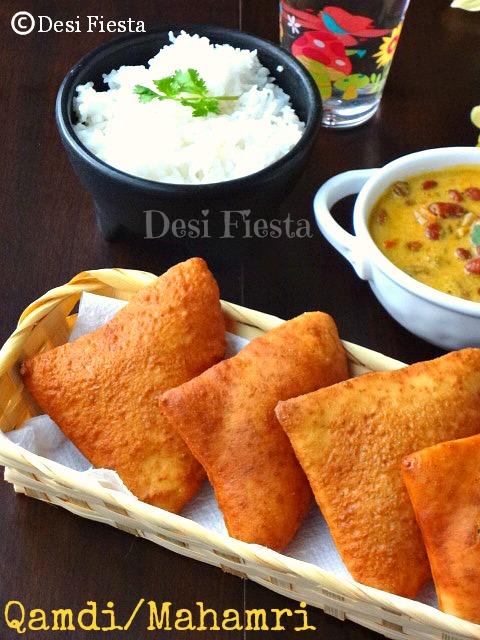 Qamdi Mahamri Mandazi Eggless Triangular Sweet Bread Desi Fiesta