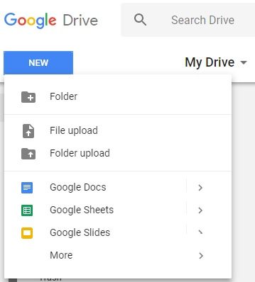 How to Upload Files in Google Drive