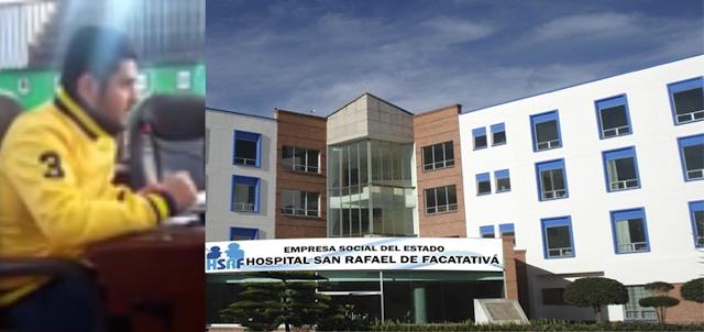 Un concejal anunció millonaria inversión para el H. San Rafael de Facatativá