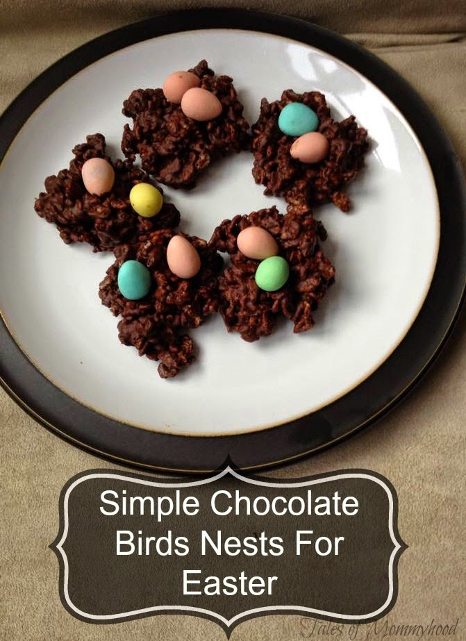 chocolate, easter, eggs, nests, desert, recipe
