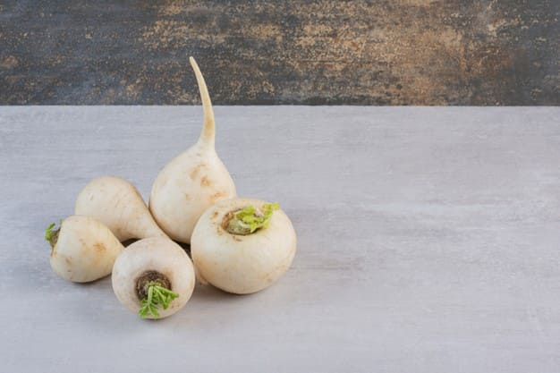 Benefits of white turnips for slimming