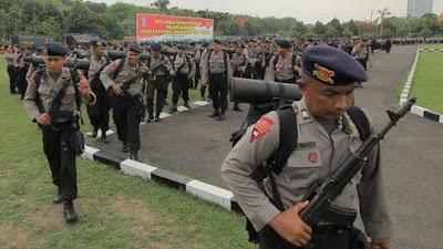 Dua Regu Brimob Dikirim ke Sinak Papua Pasca Serangan OTK / KTK pukul 20.45 WIT