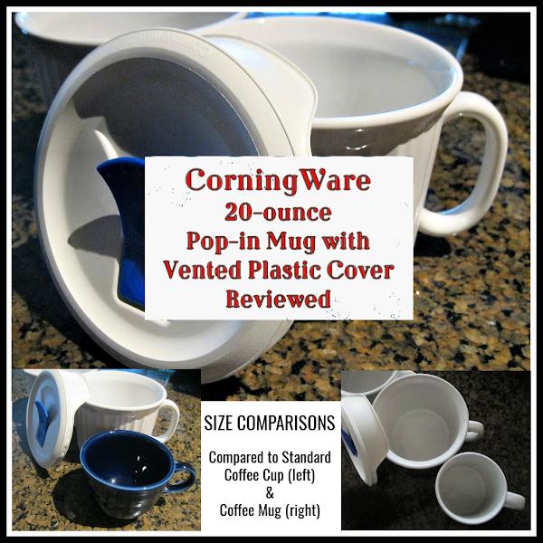 Corningware Microwave Soup Mugs