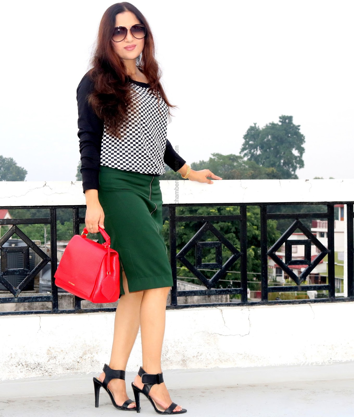 FALL FASHION TRENDS 2016, Indian fashion blog, OOTD, how to style a pencil skirt, outfit of the day,