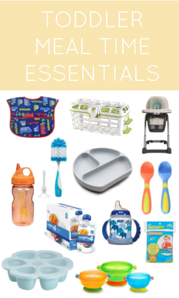 Great list of essentials! All of the must have toddler feeding products for making meal time easier.