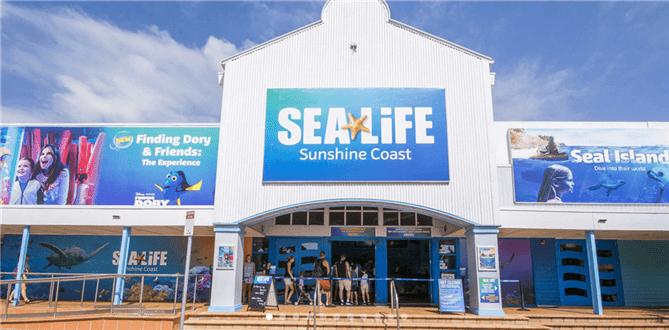 sea-life-sunshine-coast のエントランスの写真