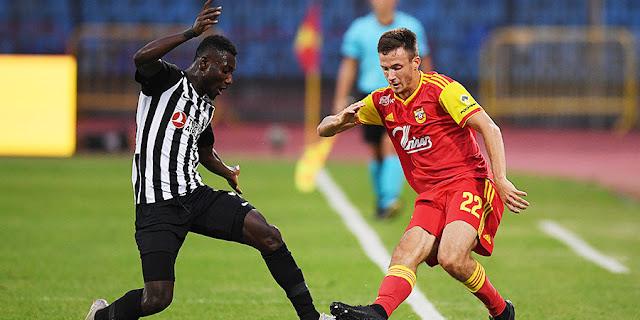 Российский клуб впервые вылетел от азербайджанского в еврокубках