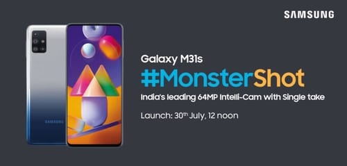 Samsung confirms specifications and release date for the upcoming Galaxy M31