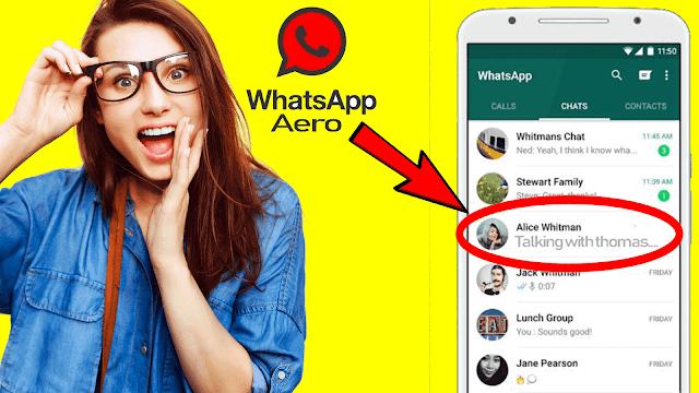 تحميل واتساب ايرو WhatsApp Aero ضد الحظر اخر اصدار 2021