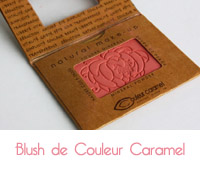 blush de couleur caramel