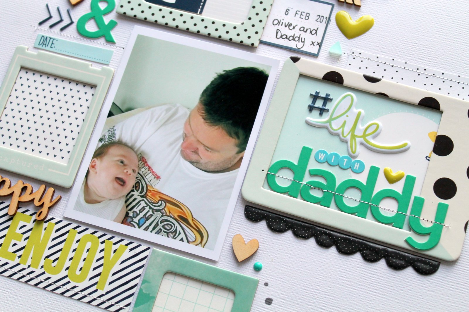 Tarrah Mclean Life With Daddy May 2016 Hip Kit Club