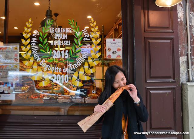 Baguette in Paris