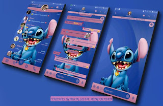 Dog Stitch Theme For Fouad WhatsApp & YOWhatsApp By Robson