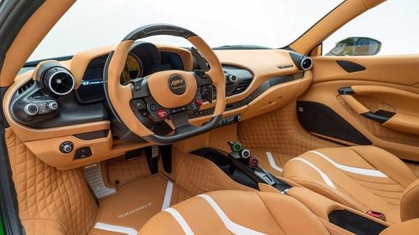 Interior Mansory F8XX Ferrari F8 Tributo