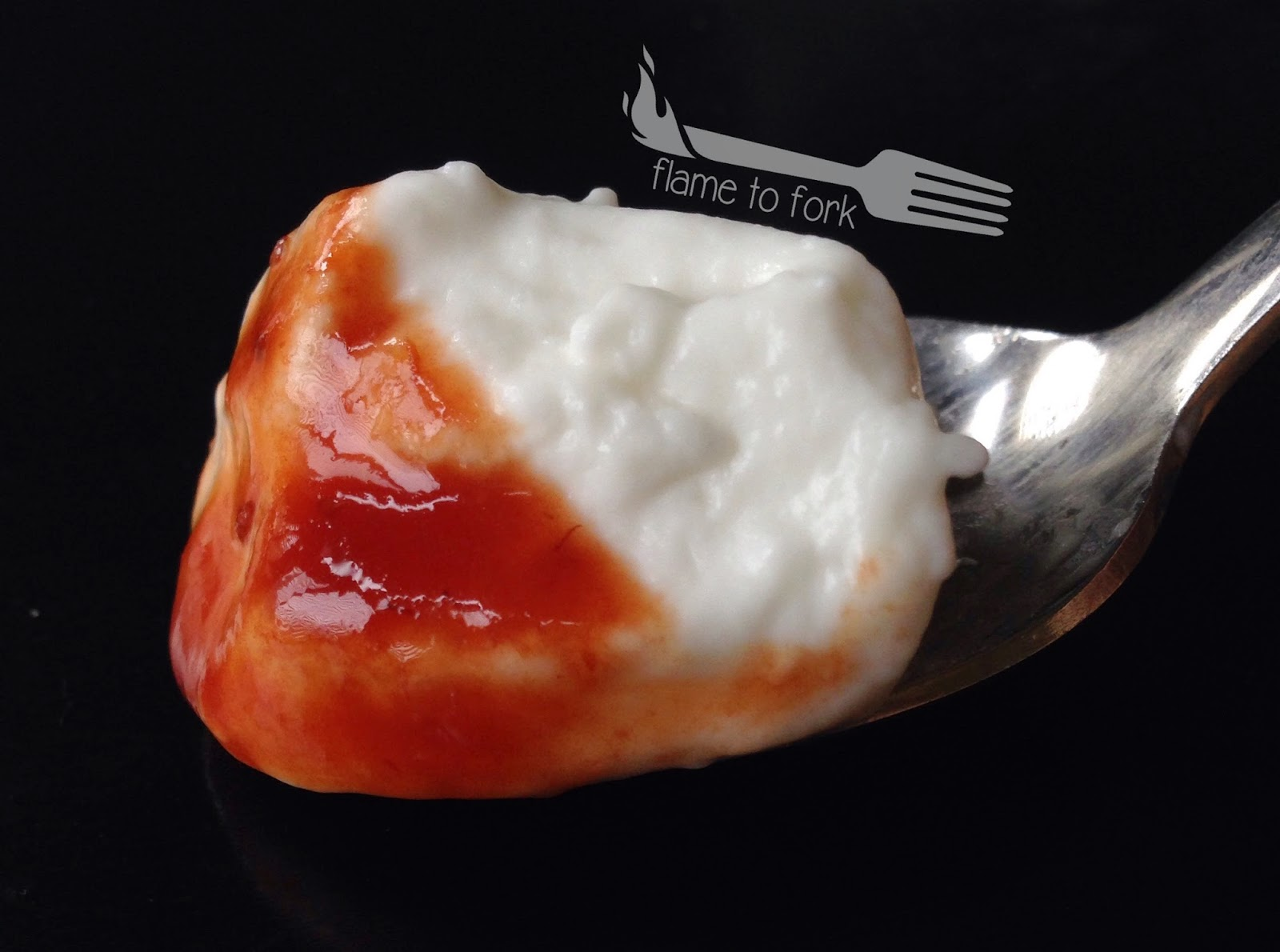 Coconut Milk Yogurt with Strawberry-Balsamic Sauce - #Instapot, #Dairyfree ~ flame to fork