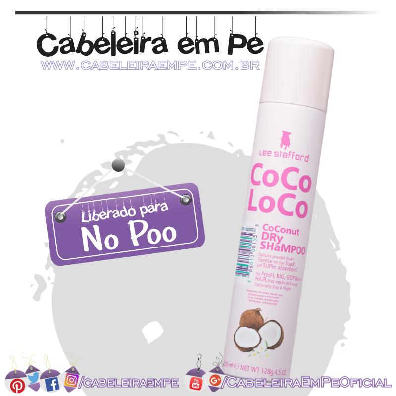 Shampoo a Seco Coco Loco - Lee Stafford (No Poo)