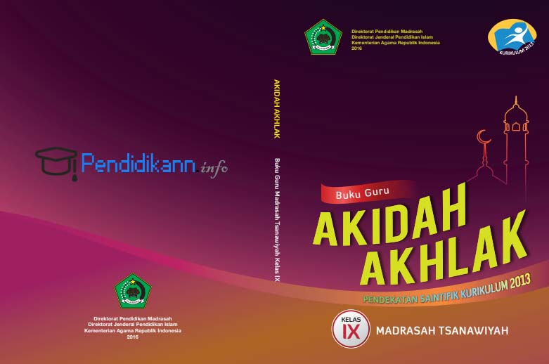 Buku Paket Akidah Akhlak Kelas 9 Kurikulum 2013