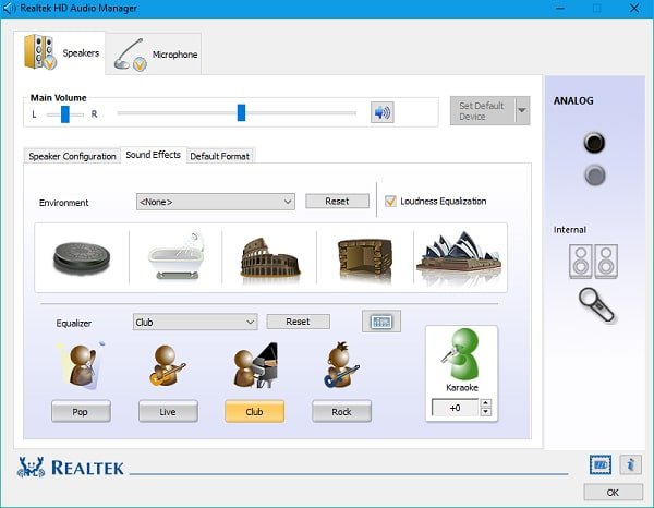 تعريف كارت الصوت لاي جهاز كمبيوتر برنامج Realtek High Definition Audio