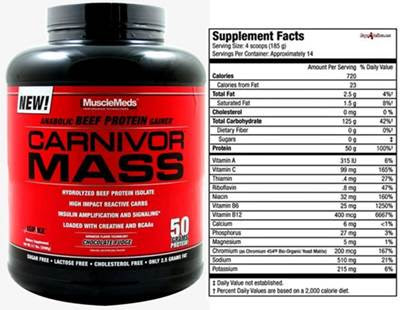 Carnivor de Musclemeds (Isolate y Mass): review y opiniones