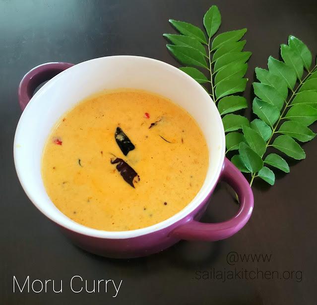 images ofMoru Curry / Kerala Style Moru Kachiyathu  / Seasoned Butter Milk / Moru Kachiyathu