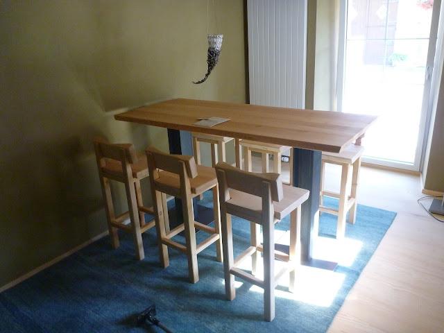 erhöhter Tisch bar