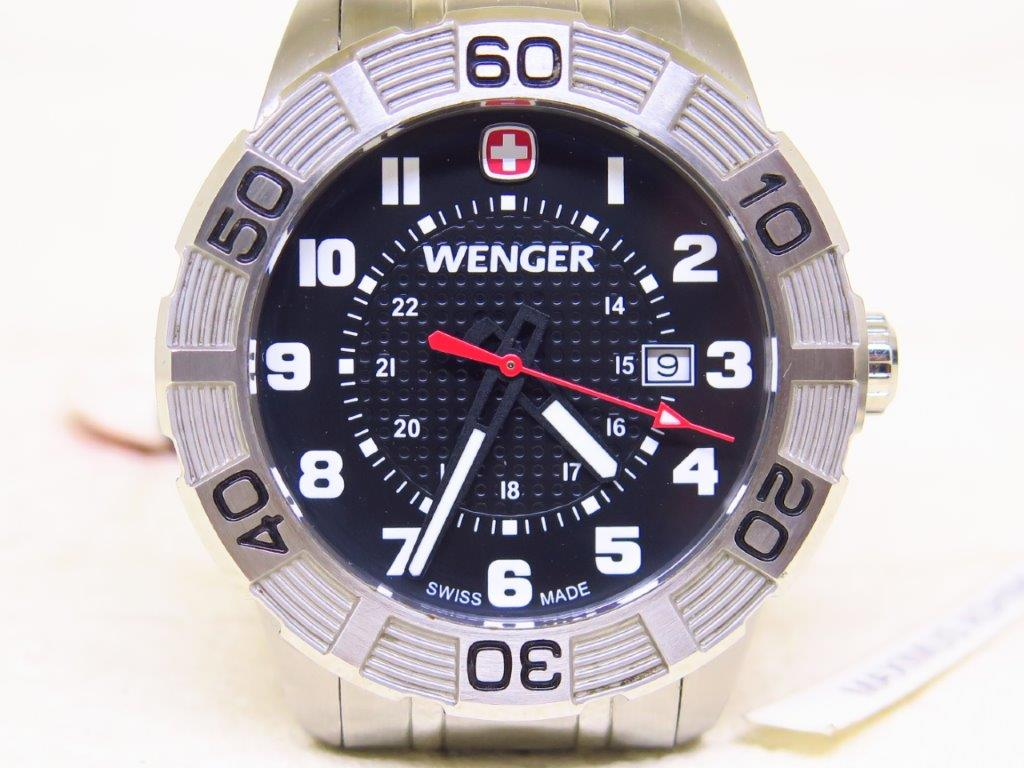 WENGER MILITARY SWISS ARMY KNIFE WATCH - NEW OLD STOCK