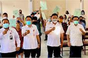 Olly Serahkan 1.400 Sertifikat Tanah Program PTSL untuk Eks Transmigran di Bitung
