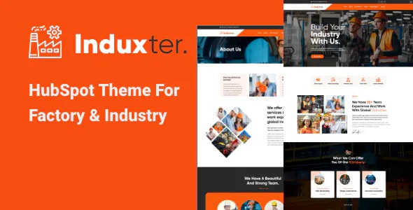 Best HubSpot Theme for Factory and Industry
