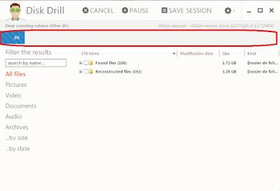 برنامج Disk Drill
